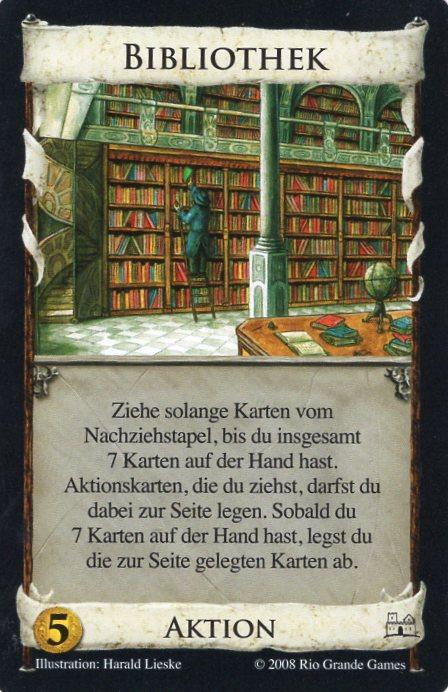 Dominion Basisspiel 2. Edition Bibliothek
