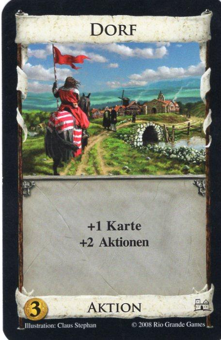 Dominion Basisspiel 2. Edition Dorf