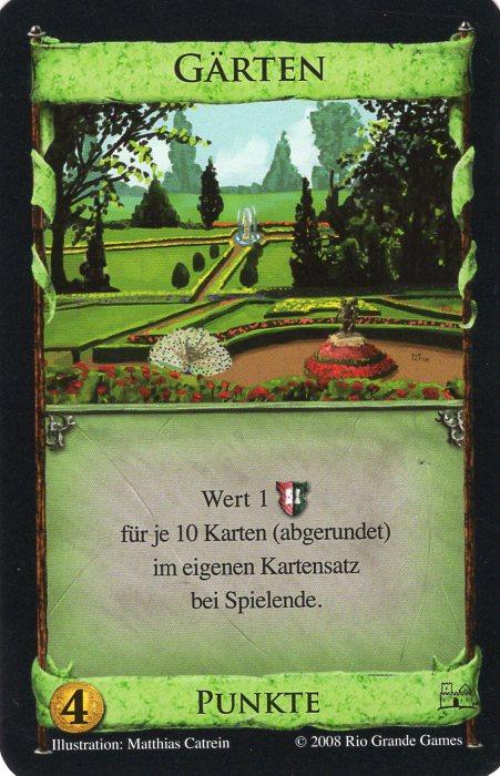 Dominion Basisspiel 2. Edition Gärten