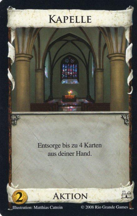 Dominion Basisspiel 2. Edition Kapelle