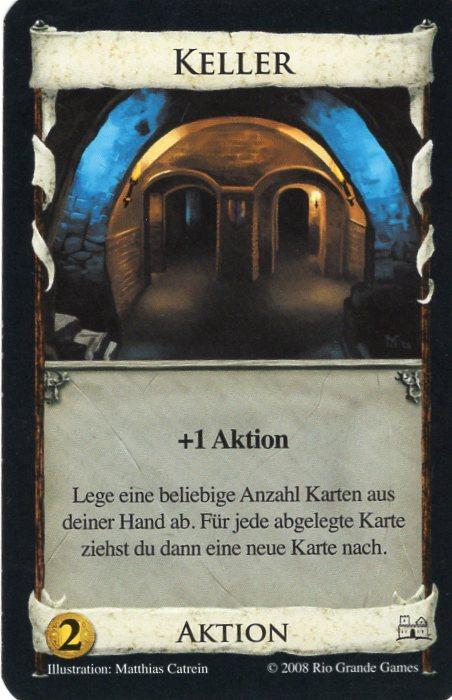 Dominion Basisspiel 2. Edition Keller
