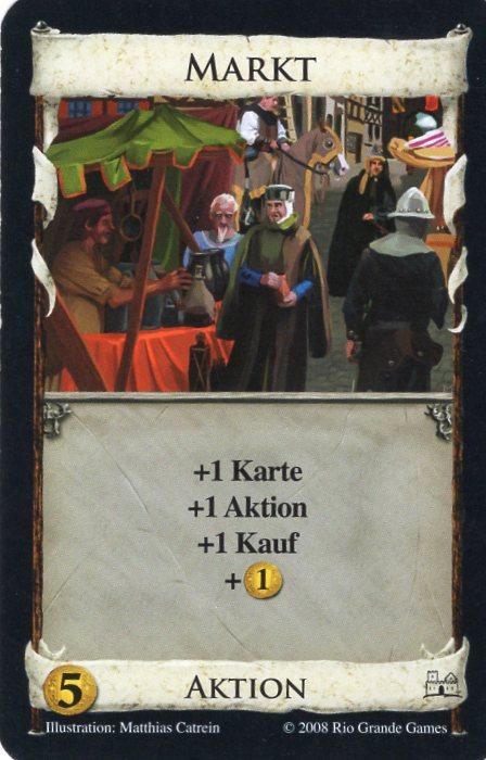 Dominion Basisspiel 2. Edition Markt
