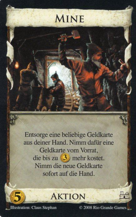 Dominion Basisspiel 2. Edition Mine