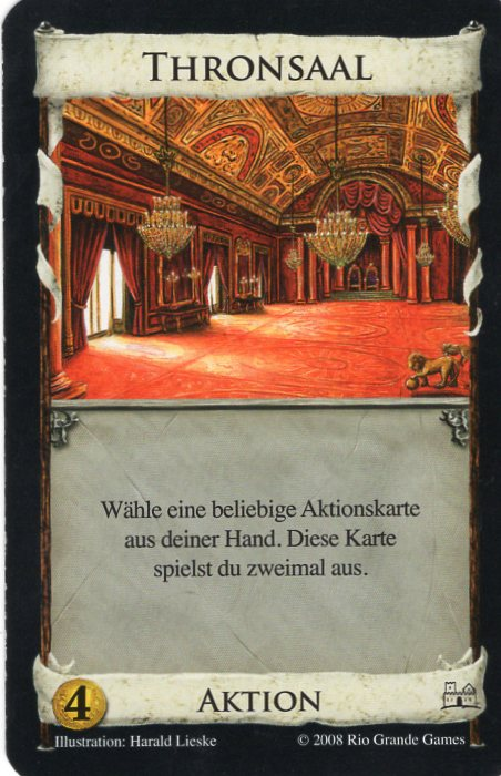 Dominion Basisspiel 2. Edition Thronsaal