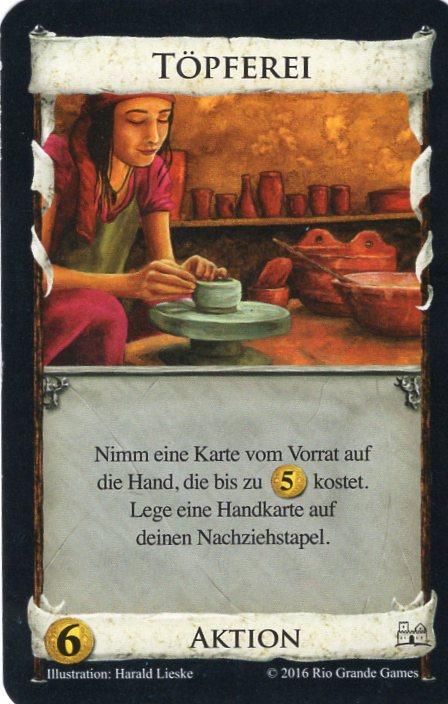 Dominion Basisspiel 2. Edition Töpferei