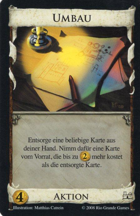 Dominion Basisspiel 2. Edition Umbau