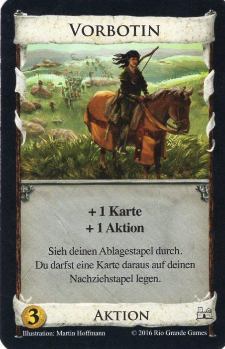 Dominion Basisspiel 2. Edition Vorbotin