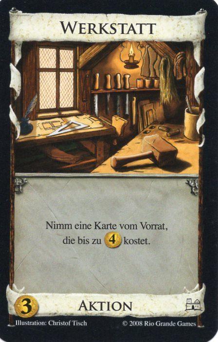 Dominion Basisspiel 2. Edition Werkstatt