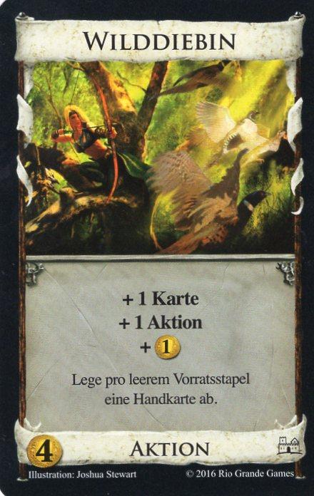 Dominion Basisspiel 2. Edition Wilddiebin