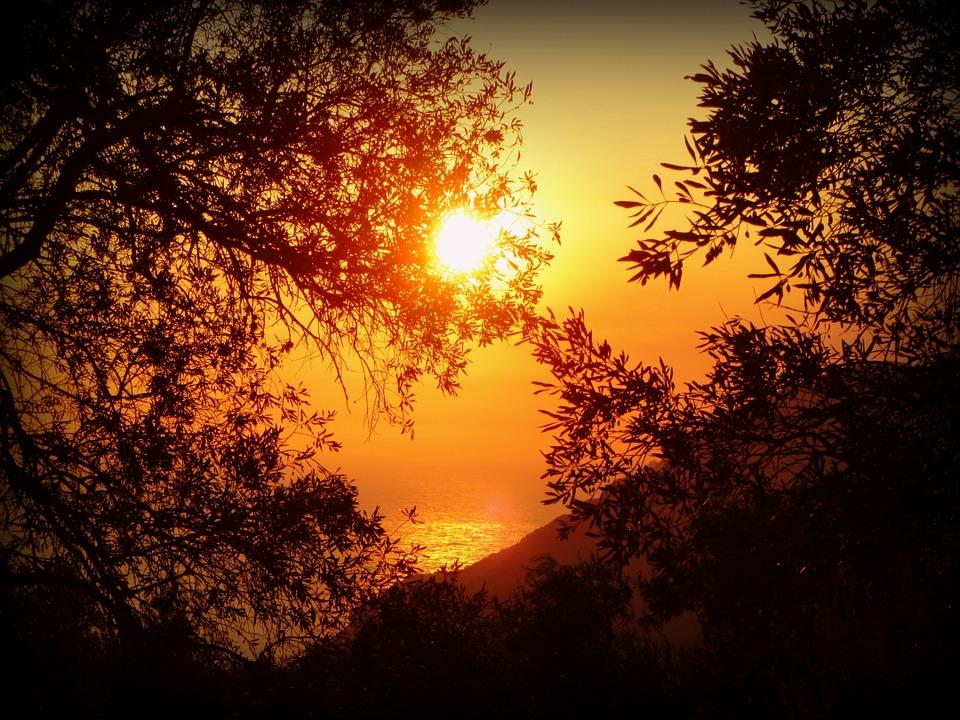 Sonnenuntergang im Kosch
