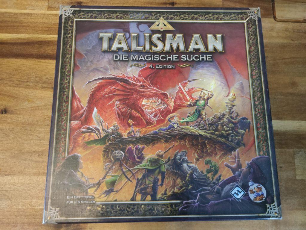 Talisman die Spielverpackung